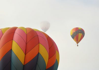 Balloons in Fog—Colorado, 2016