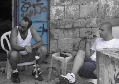 Hookah Smoking—Akko, Israel, 2008