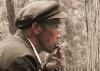 Smoking Man—China, 2009