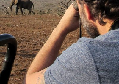 How lucky am I? Yes, that's what my tattoo says—South Africa, 2015