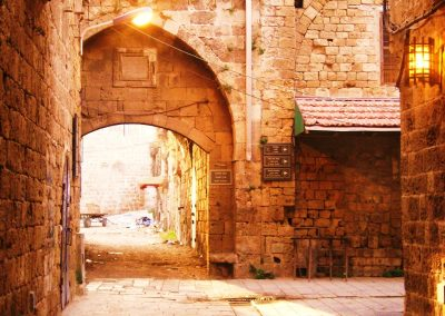 Ancient Walkway—Akko, Israel, 2009