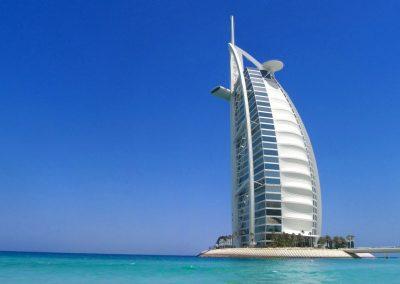 Burj Al Arab hotel—Dubai, UAE, 2011