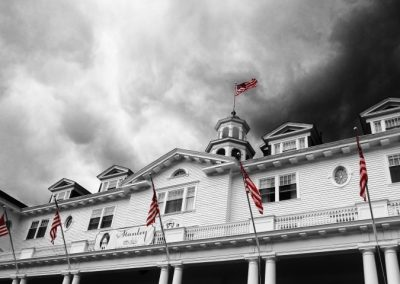 The Stanley Hotel, one of my favorite writing places—Estes Park, Colorado, 2015