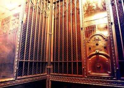 Elevator at the Stanley Hotel—Estes Park, Colorado, 2015