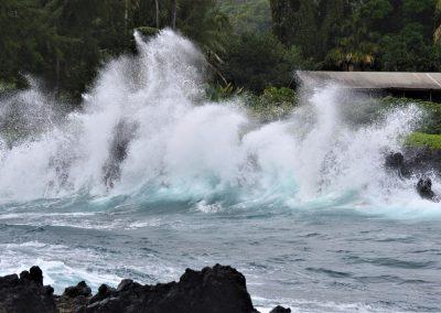 Crashing waves, Maui, 2019