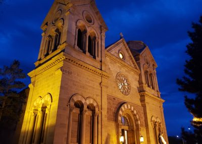 The Cathedral Basilica of St. Francis of Assisi, Santa Fe, NM, 2019