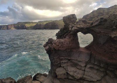 Heart rock, Maui, 2019